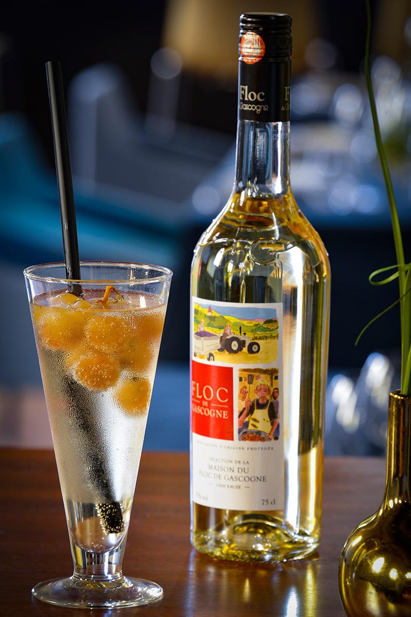 Cocktail Cordeliers au Floc de Gascogne