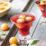 Cocktail Floc-de-Gascogne et melon