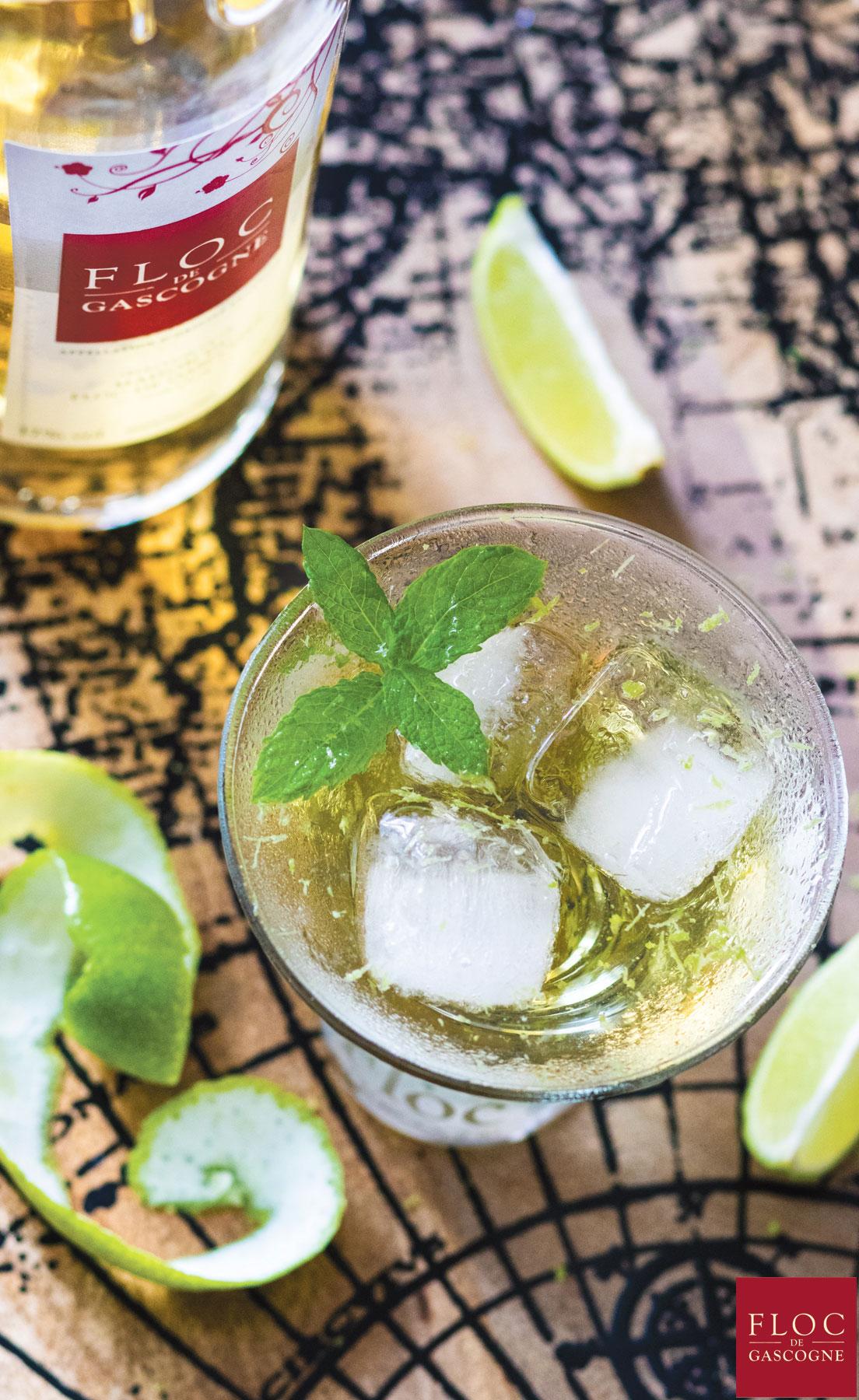 Cocktail Floc-Thai au Floc-de-Gascogne blanc