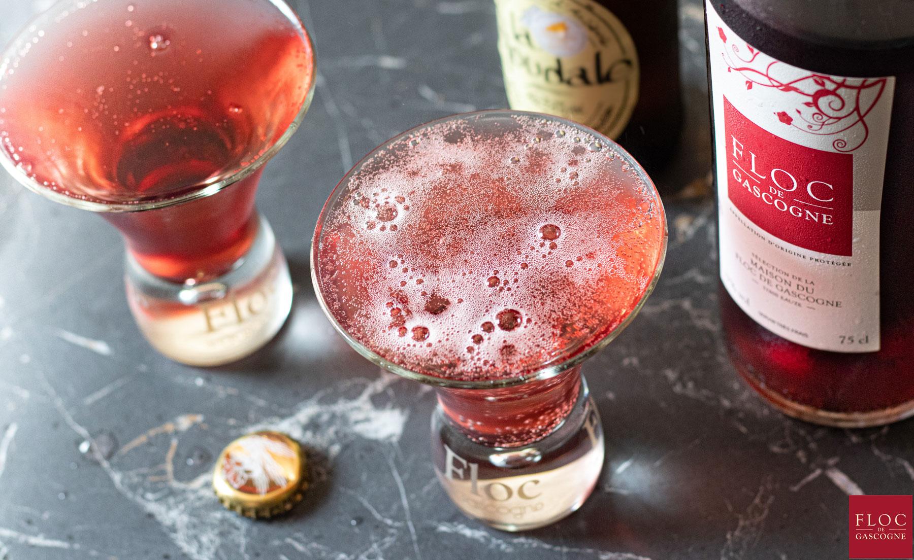 Cocktail Monaco au Floc-de-Gascogne