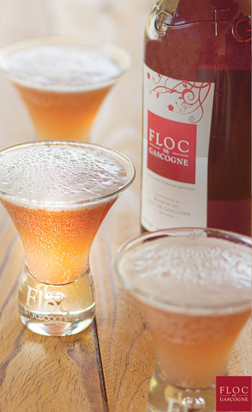 Red Sloc - Floc-de-Gascogne et bière artisanale