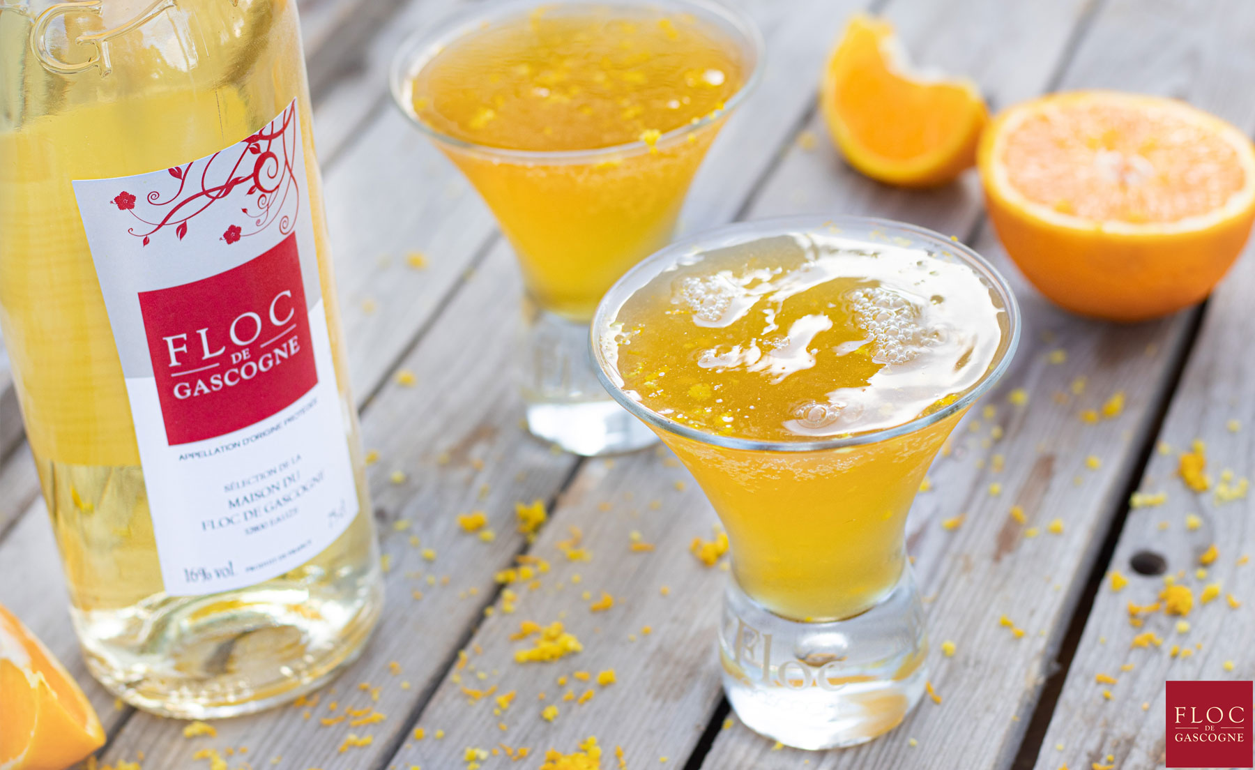 Cocktail Mimosas au Floc-de-Gascogne