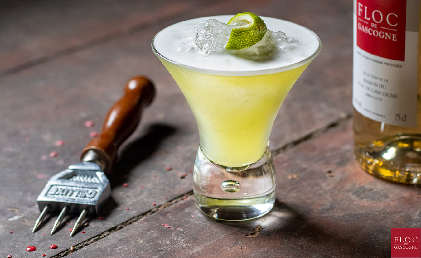 Le Basil-Floc un cocktail Gascon tout en fraîcheur et harmonie